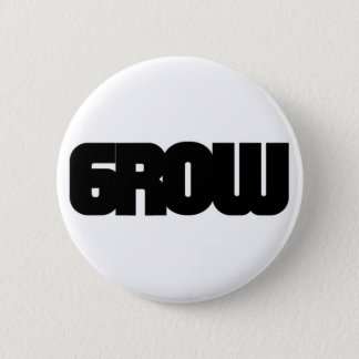 Grow Visuals - Growvisuals Logo 2 Inch Round Button