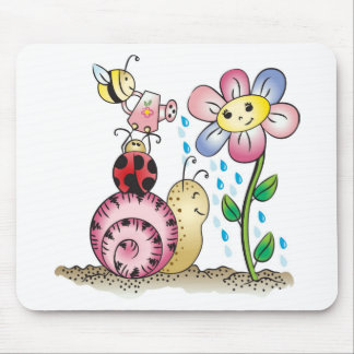 Grow with me! Grandit avec moi! Mouse Pad