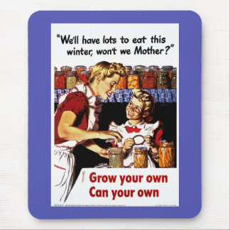 Grow Your Own - Can Your Own Mouse Pad