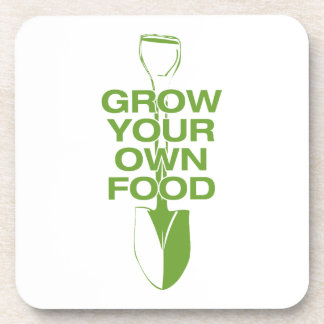 GROW YOUR OWN FOOD COASTER