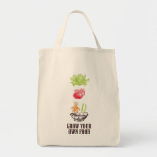 Grow Your Own Food Grocery Tote