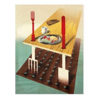 Grow Your Own Food Postcard