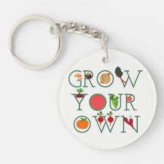 Grow Your Own Keychain
