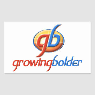 Growing Bolder Sticker
