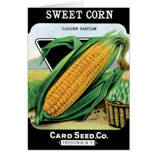 Growing Corn Card