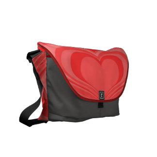 Growing Hearts Messenger Bag