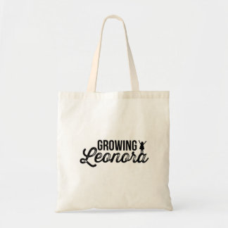 Growing Leonora tote bag
