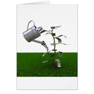 Growing Money Greeting Cards