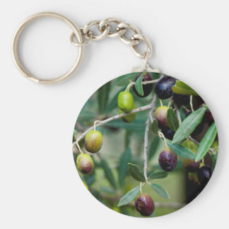 Growing Olives Keychain