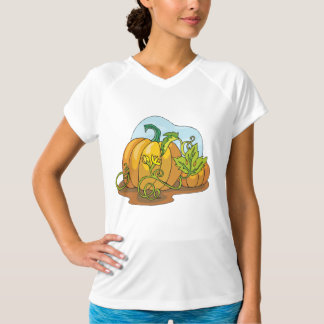 Growing Pumpkins Womens Active Tee