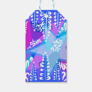 Growing Stars Pattern Pack Of Gift Tags