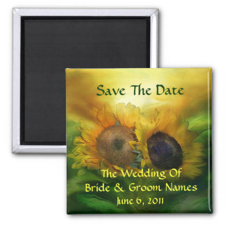 Growing Together Save-The-Date Wedding Magnet