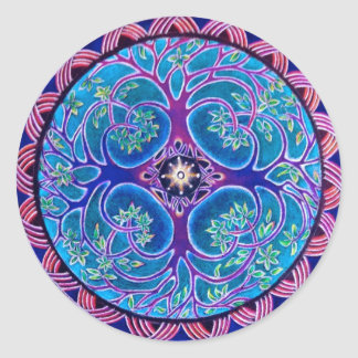 Growing Tree of Life Mandala Sticker