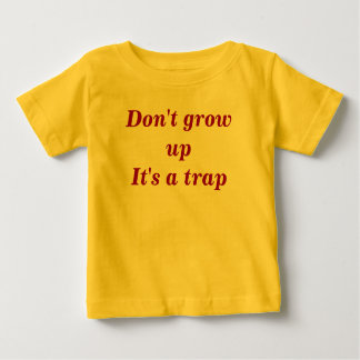 Growing up creeper. baby T-Shirt