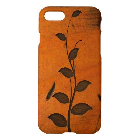 Growing Vine on Faux Baltic Pine Wood Zazzle iPhone 8/7 Case