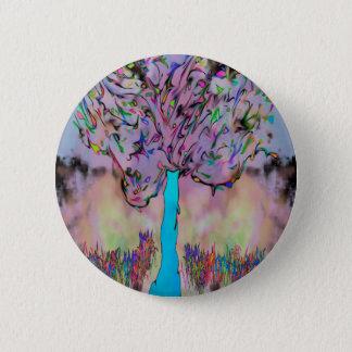 growing wild 2 inch round button