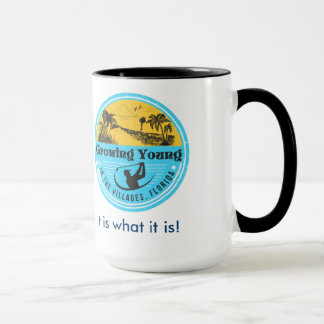 Growing Young in The Villages Mug