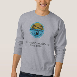 Growing Young in The Villages sweatshirt