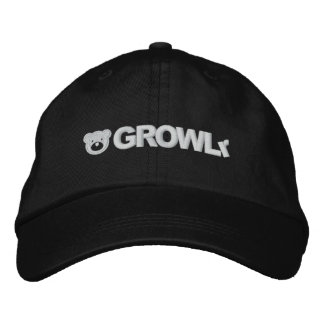 GROWLr Adjustable Hat Baseball Cap