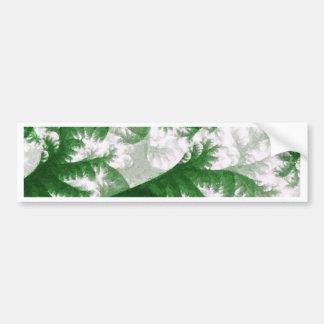 Growth 1 - Fractal Art Bumper Sticker