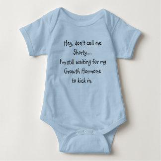 Growth Hormone Humor Baby Bodysuit