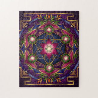 Growth Mandala Puzzle by Rachel C. Bemis