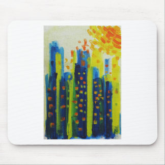 growth patterns mouse pad