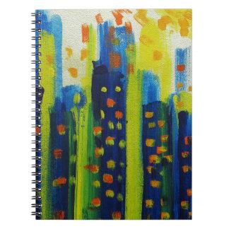 growth patterns spiral notebook