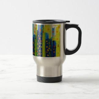 growth patterns travel mug