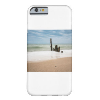 Groynes on shore of the Baltic Sea Barely There iPhone 6 Case