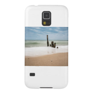 Groynes on shore of the Baltic Sea Galaxy S5 Cover