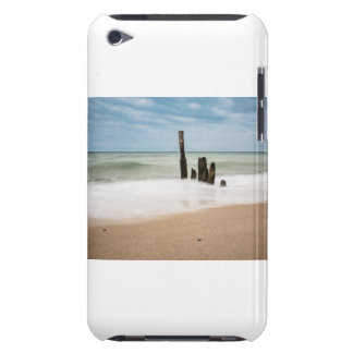 Groynes on shore of the Baltic Sea iPod Touch Cover