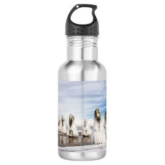 Groynes on the Baltic Sea coast 532 Ml Water Bottle