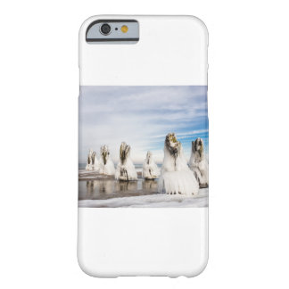 Groynes on the Baltic Sea coast Barely There iPhone 6 Case