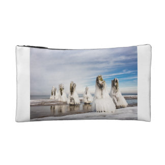 Groynes on the Baltic Sea coast Cosmetic Bag