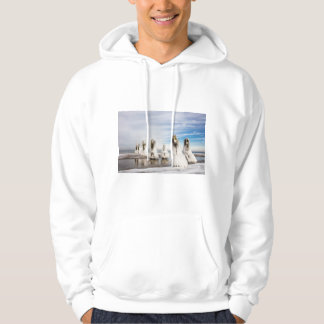 Groynes on the Baltic Sea coast Hoodie