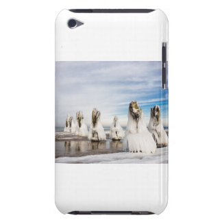 Groynes on the Baltic Sea coast iPod Touch Covers