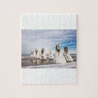 Groynes on the Baltic Sea coast Jigsaw Puzzle