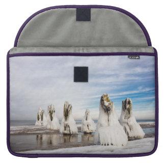 Groynes on the Baltic Sea coast Sleeve For MacBooks