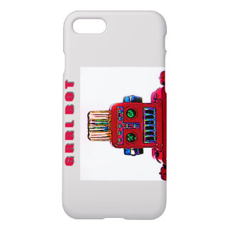 Grrl Bot, just a Fem Robot in the Big City iPhone 7 Case