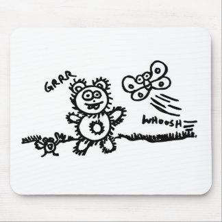 Grrr. Whoosh. Mouse Pad