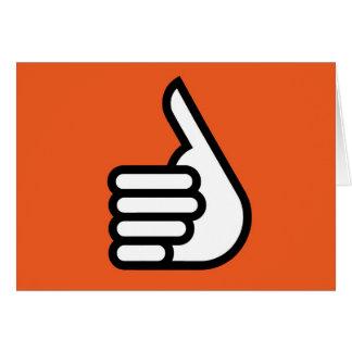 Grtz.net: Hands up, super! Card