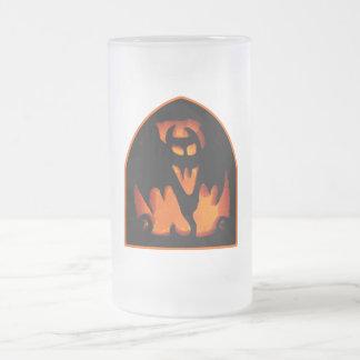 Gruesome Halloween Pumpkin Bat Silhouette Mug