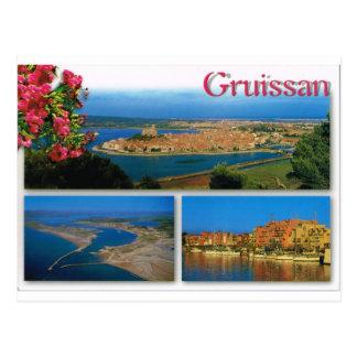 Gruissan, Cote d'Azur, multiview Postcard