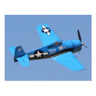 Grumman F6F Hellcat Postcard