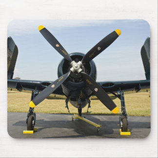 Grumman F8F Bearcat Navy Carrier Fighter on the Mouse Pad