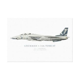 "Grumman F-14 A Tomcat VF-111 ""Sundowners"" Painting Canvas Prints"