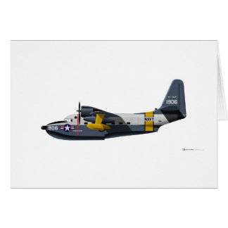 Grumman HU-16B Albatross Navy Card