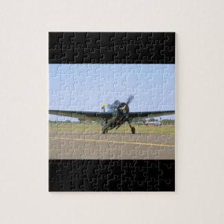 Grumman TBM Avenger, Frontal View_WWII Planes Jigsaw Puzzle