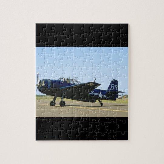 Grumman TBM Avenger, Left Front_WWII Planes Jigsaw Puzzle
